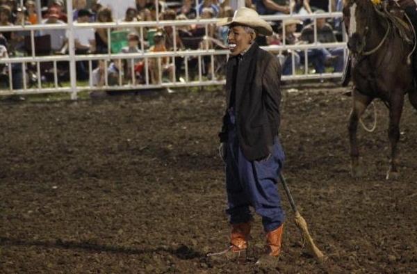 Image result for barack obama rodeo clown